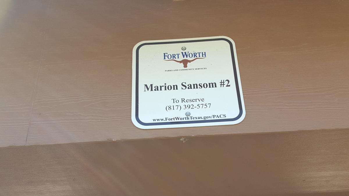 Marion Sansom Park