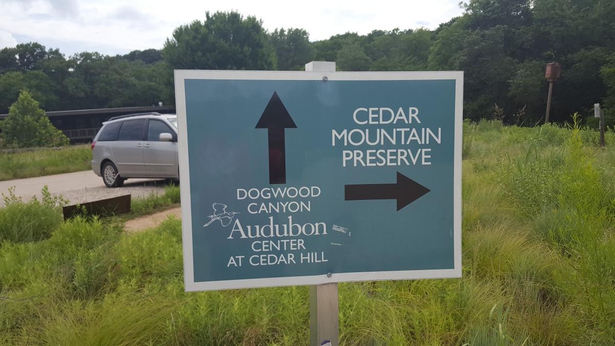 Dogwood Canyon Audubon and Cedar MountainPreserve