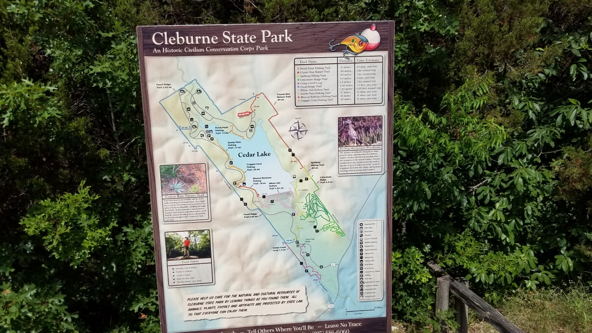 Return to Cleburne State Park