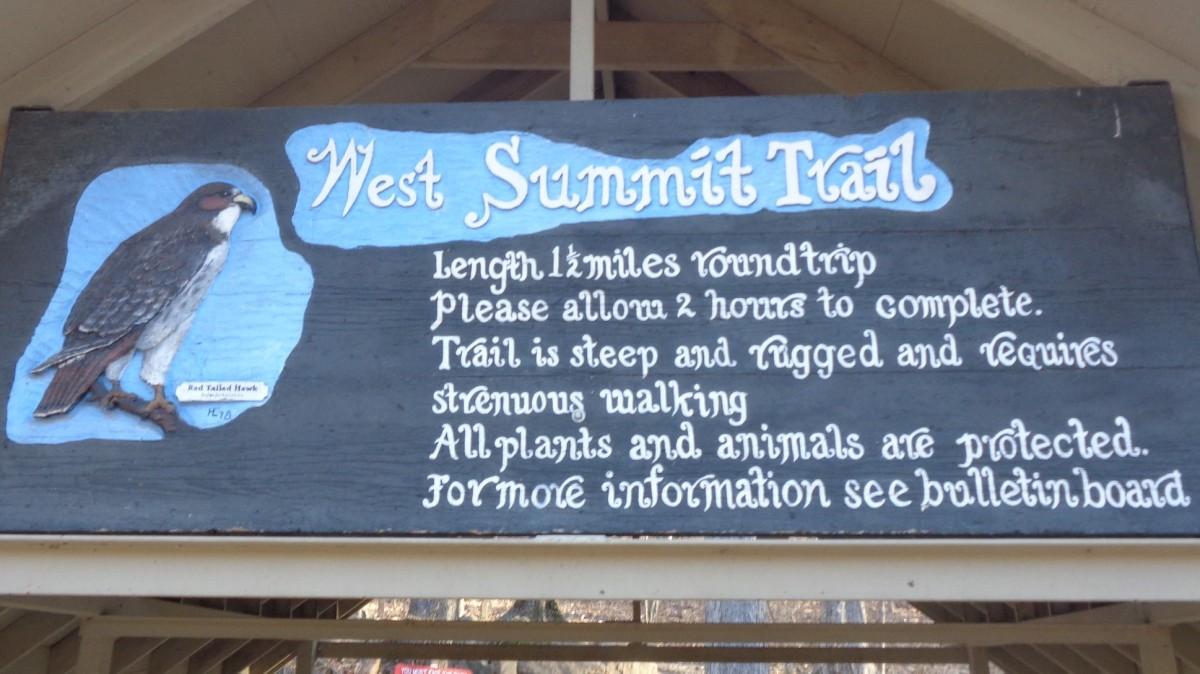 Pinnacle Mountain West SummitTrail