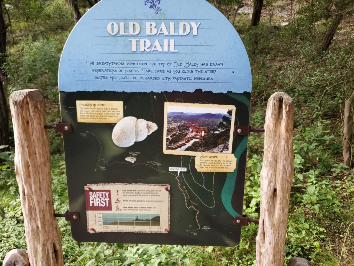 Garner State Park Old BaldyTrail