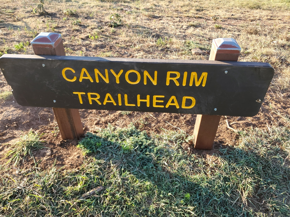 Caprock Canyon State Park Canyon RimTrail