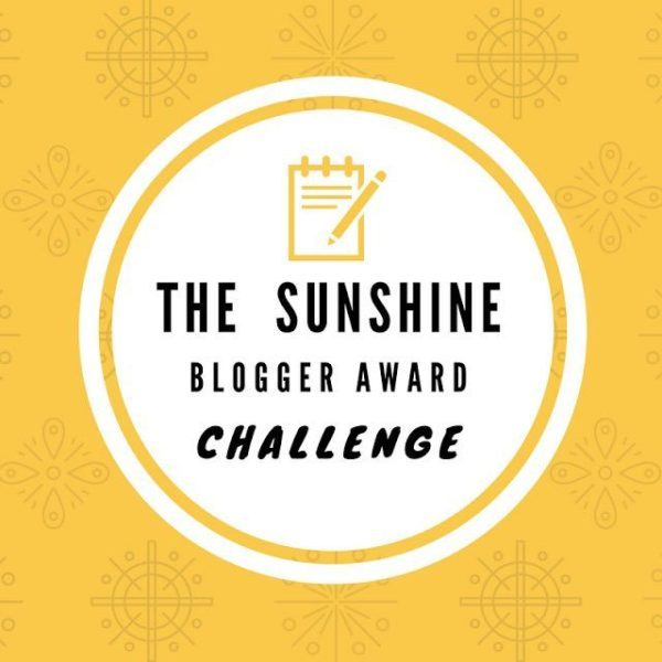 The Sunshine Blogger Award Challenge